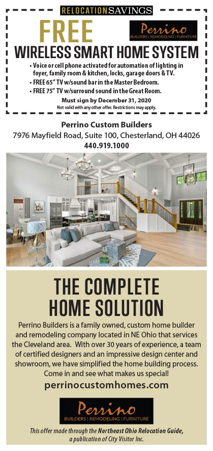 FREE WIRELESS SMART HOME SYSTEM from Perrino Custom Builders